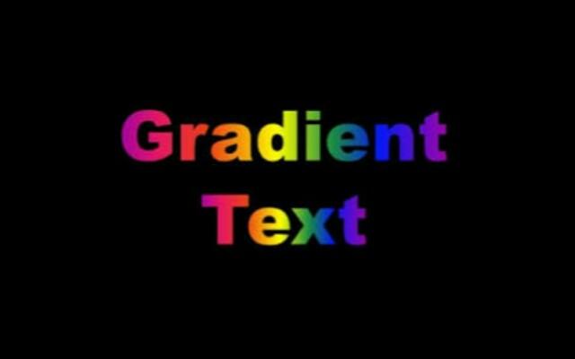 Membuat Warna Text Gradient Dengan CSS