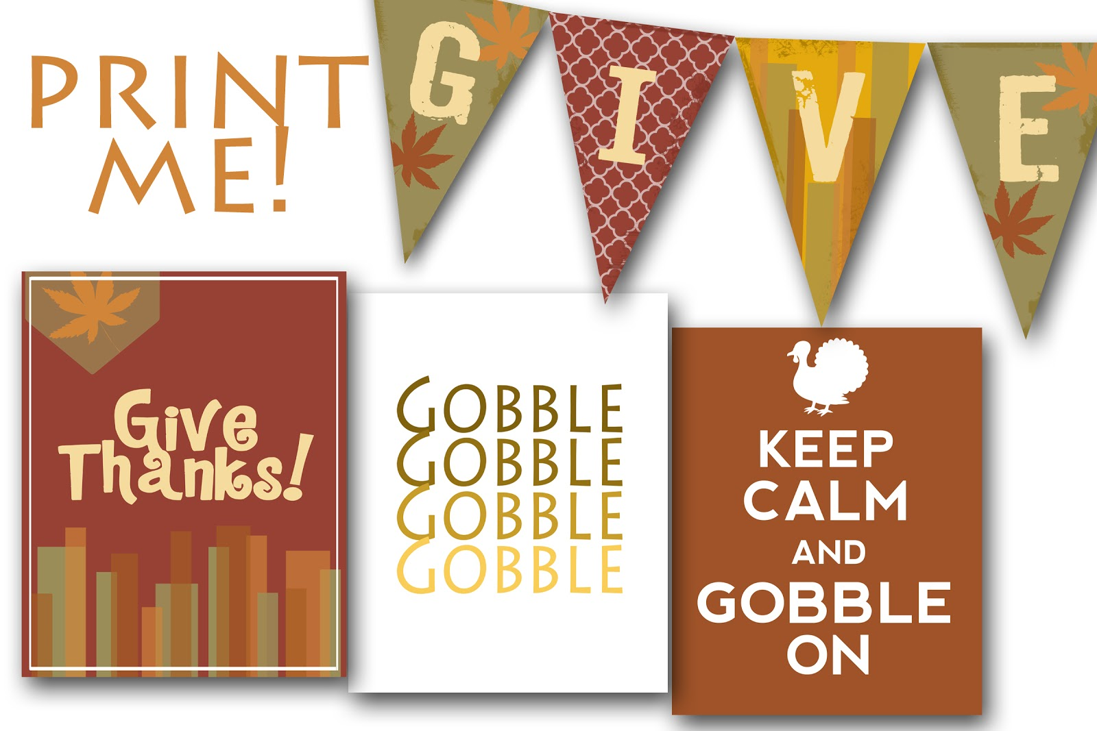 Free Fall Amp Thanksgiving Printables For You