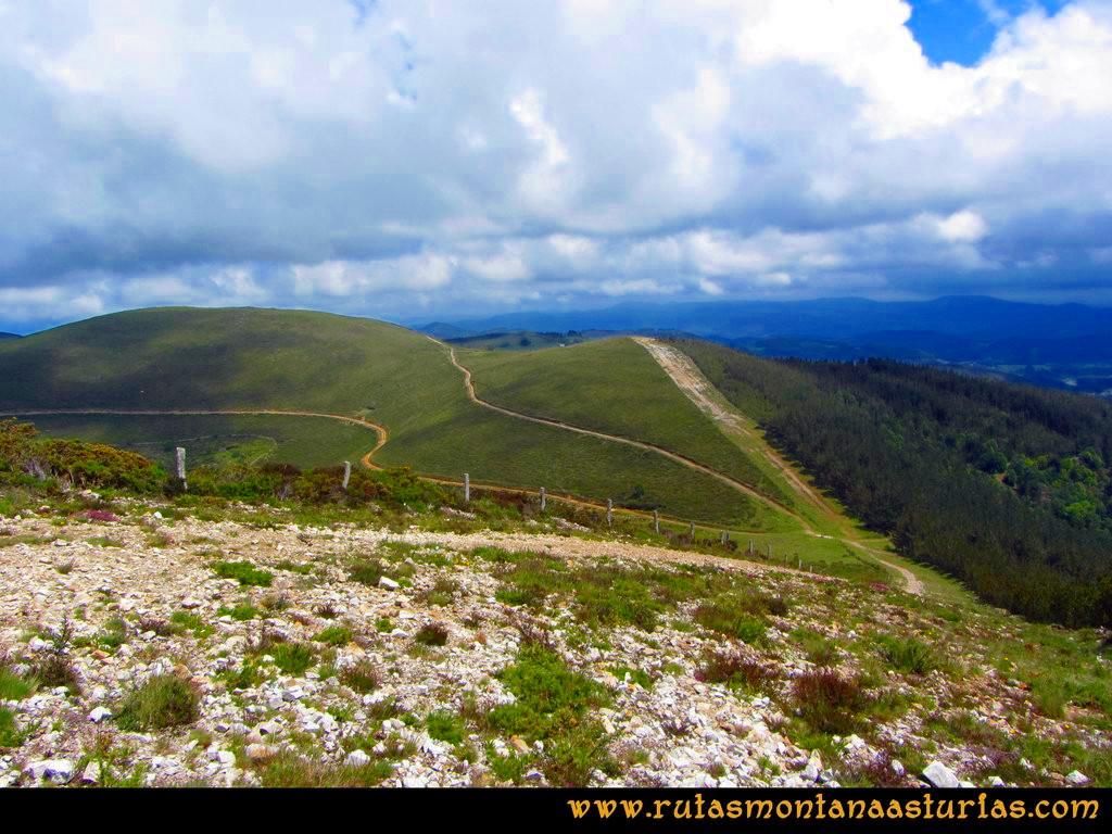 Ruta Llan de Cubel y Cueto: Camino del Llan de Cubel
