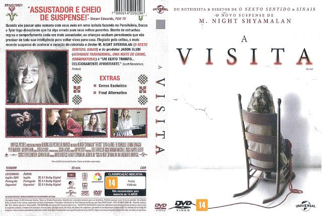 Capa DVD A Visita