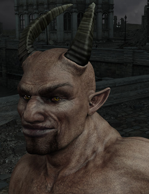 Krampus Demon for Genesis 3 Male