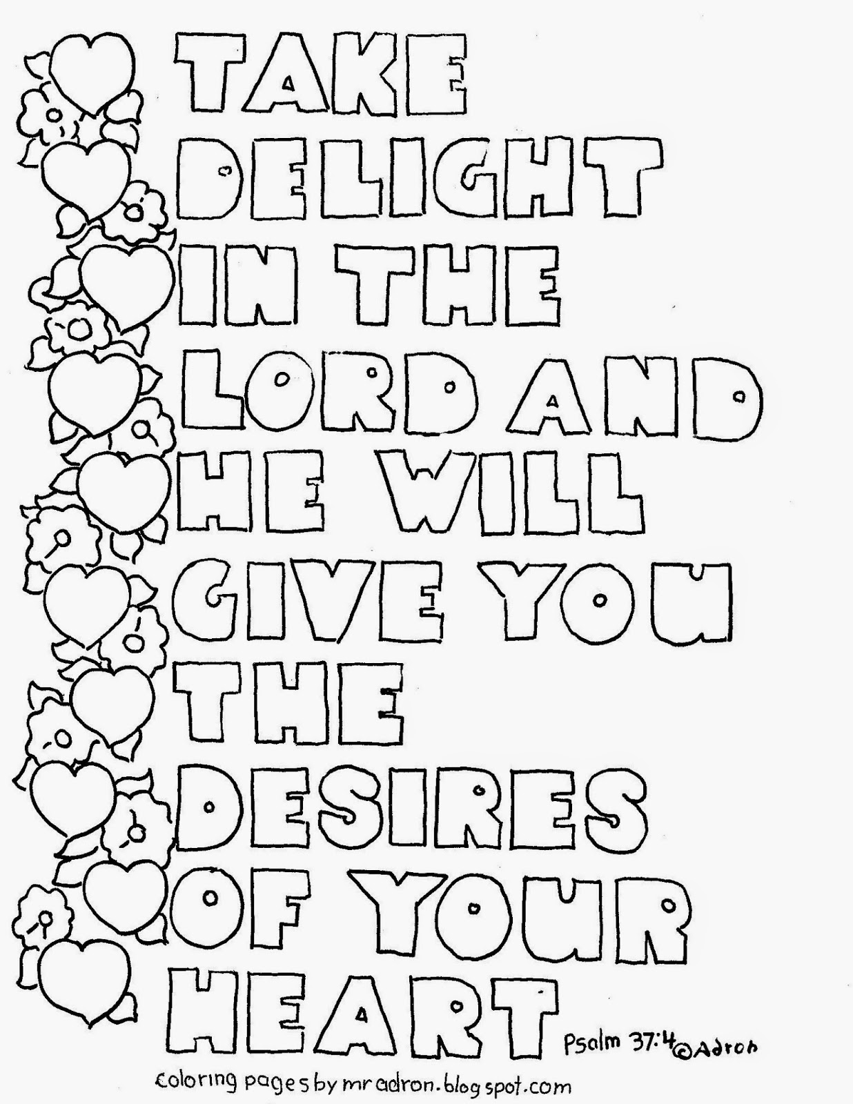 Psalm 136 Coloring Page Coloring Pages