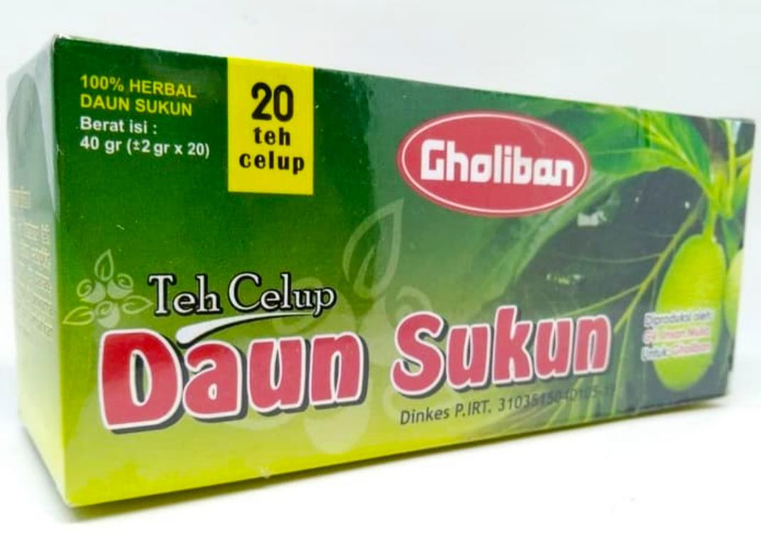 Jual teh celup daun sukun obat ginjal dan jantung di Surabaya