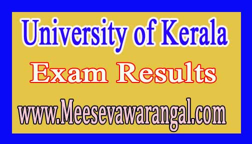 University of Kerala M.Sc Clinical Child Development Final Year Dec 2016 Exam Results