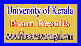 University of Kerala M.V.A Ist Sem Art History / Painting Mar 2016 Exam Results