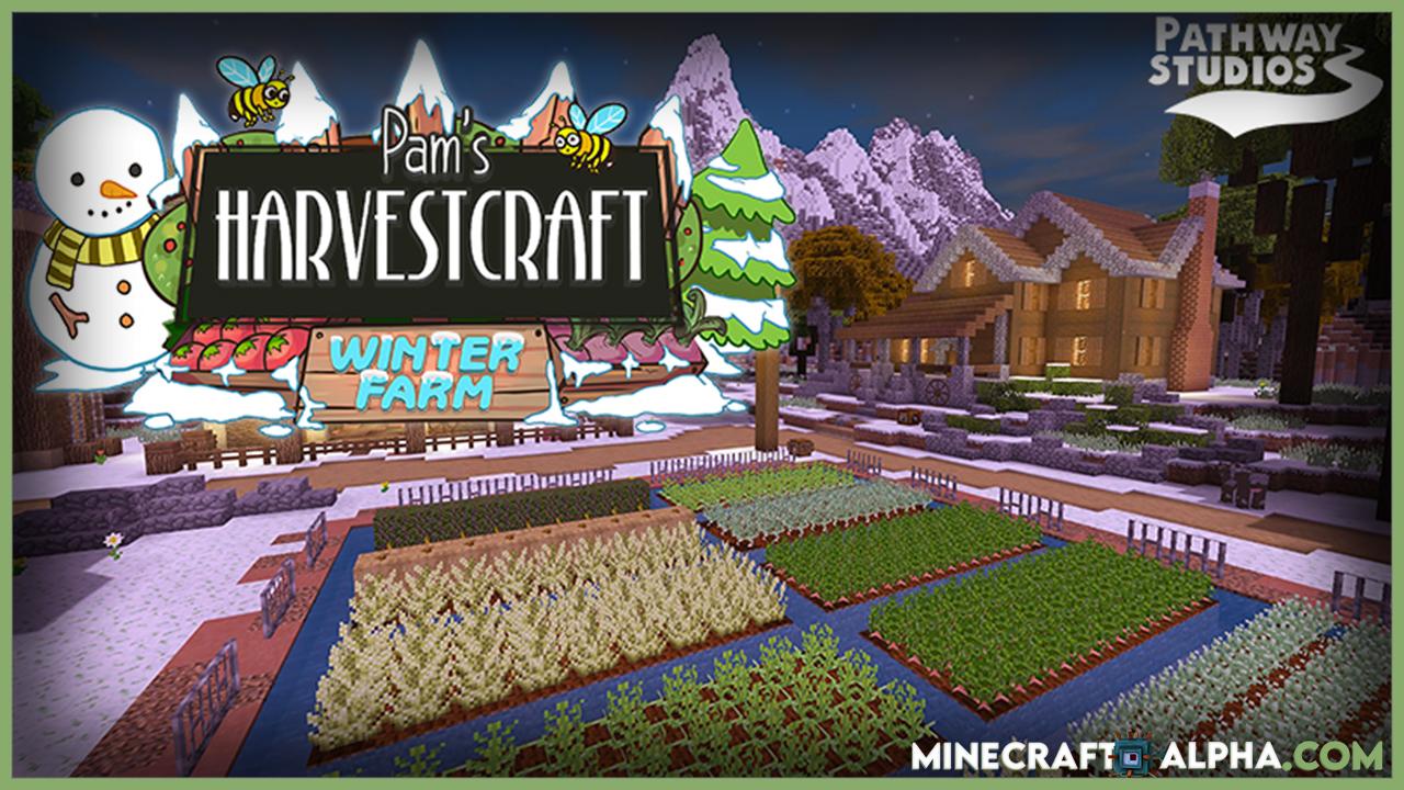 Pam's HarvestCraft: Winter Farm Map