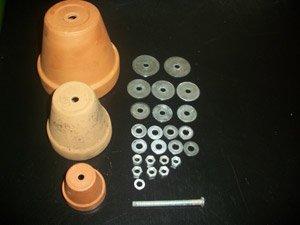 elementos necesarios para calefaccion con macetas