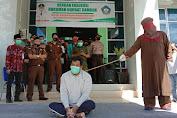 Pelanggar Syariat Islam di Aceh Selatan Dicambuk