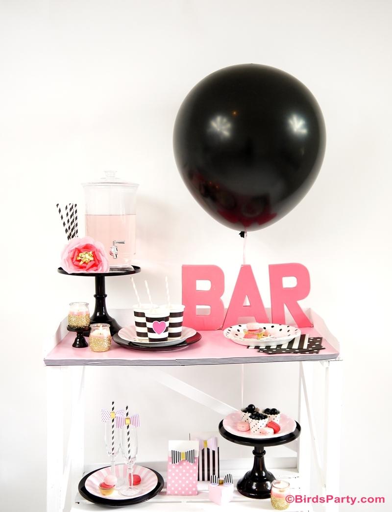 Comment Décorer un Bar pour La Saint Valentin | BirdsParty.fr