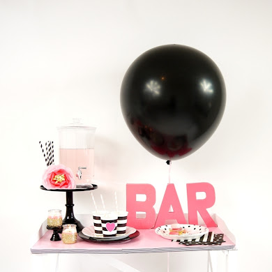 Galantine's Day Valentine's Bar Cart Styling