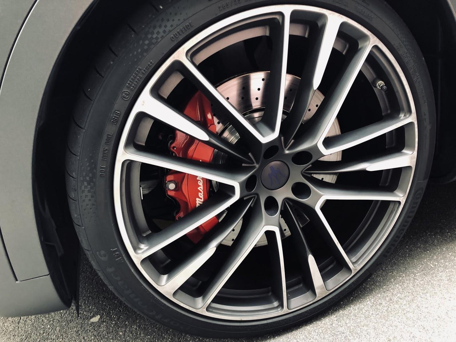 maserati pneu