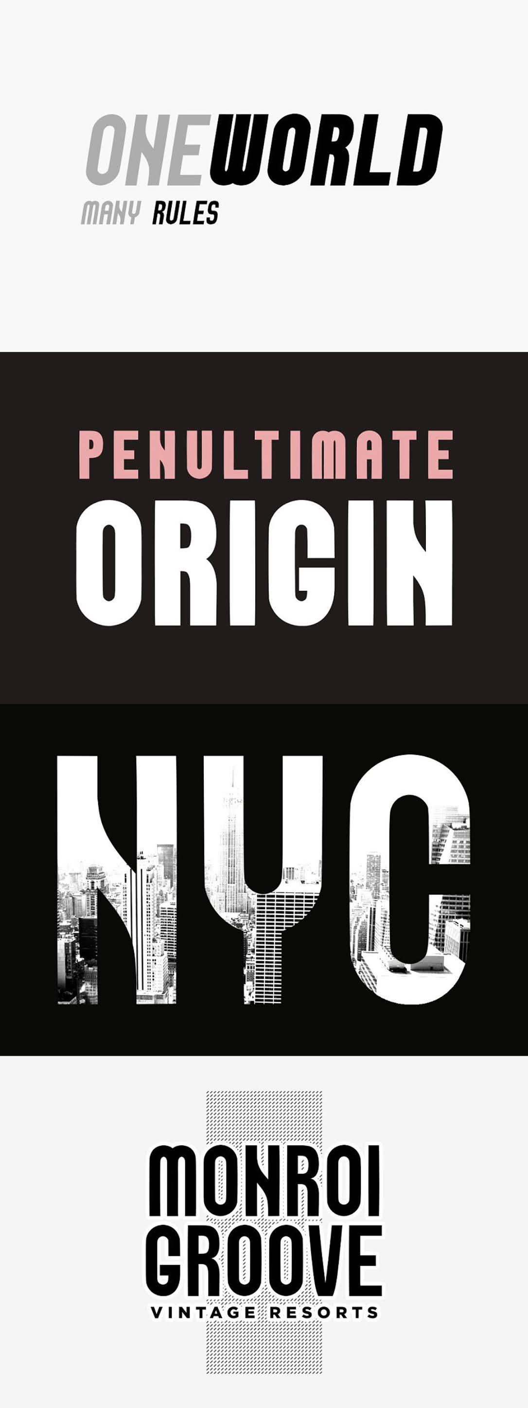 VANGUARD NeoRetro Display Typeface 5262644