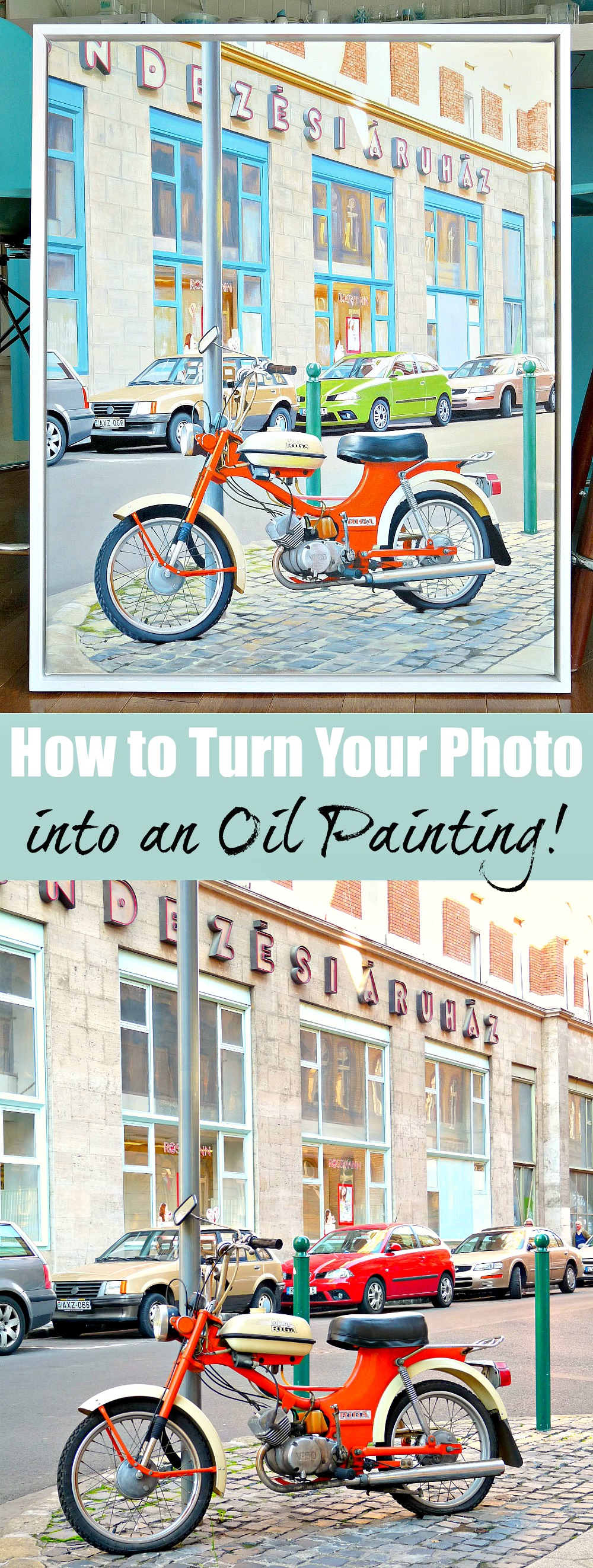 How to turn your photo into an oil painting