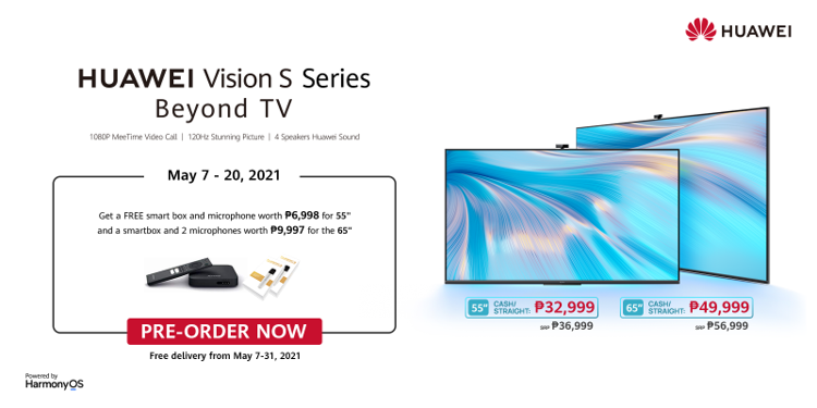 Experience Future of TV: The HUAWEI Vision S Series now in PH