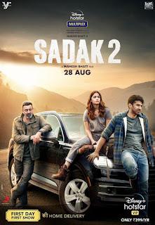 Sadak 2 First Look Poster 6