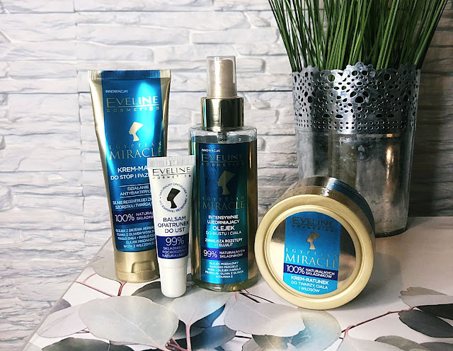 Eveline Cosmetics, Egiptian Miracle 7 Donroczynnych Skłdników