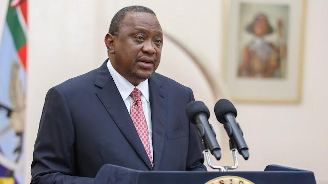 President Uhuru Kenyatta  at KICC