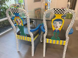 Carmen and Ariana Chairs