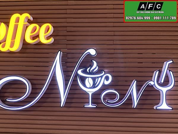 Thi công biển quảng cáo chữ nổi đèn led tại Phú Quốc