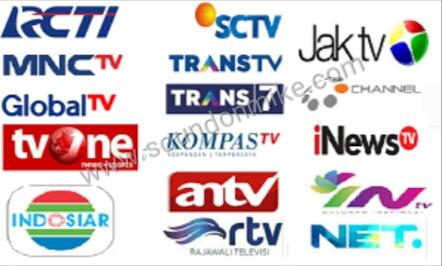 Frekuensi ANTV,SCTV,Indosiar,RCTI,dan Channel tv terbaru lainnya
