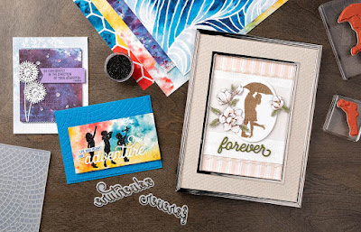 Stampin' Up! See a Silhouette Designer Paper Projects ~ 2019-2020 Annual Catalog