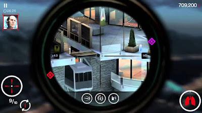 لعبة Hitman Sniper مهكرة جاهزة للاندرويد, لعبة Hitman Sniper مهكرة بروابط مباشرة