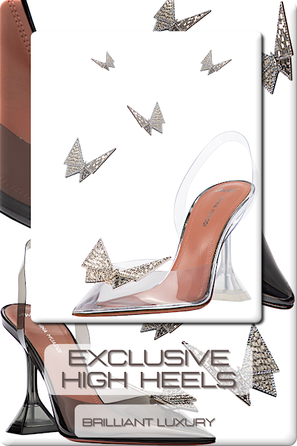 ♦Exclusive Evening High Heels #aminamuaddi #jimmychoo #dolceandgabbana #gianvitorossi #shoes #brilliantluxury