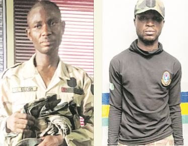 Fake soldiers held for killing police sergeant in Lagos