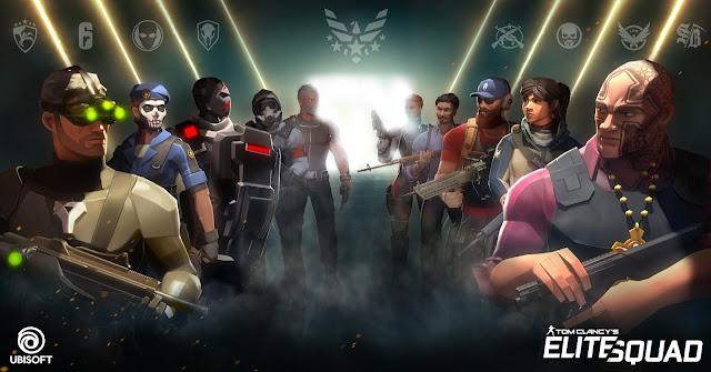 لعبة Tom Clancy's Elite Squad، لعبة الهاتف
