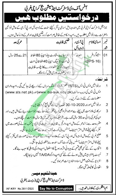 distric-session-court-jobs-2020-karchi-latest-advertisement