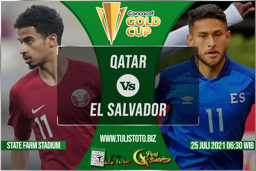 Prediksi Qatar vs El Salvador 25 Juli 2021