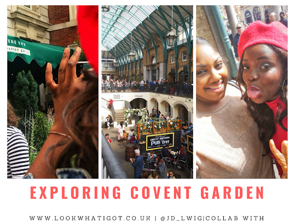 EXPLORING COVENT GARDEN IN LONDON