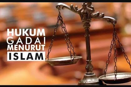 Hukum Akad Ar-Rahn (Gadai)