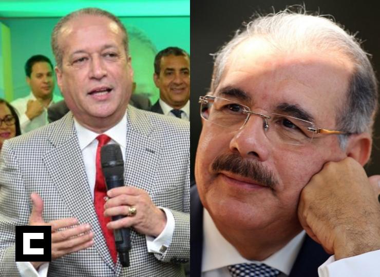 Reinaldo Pared Pérez dice sustituirá a Danilo como presidente