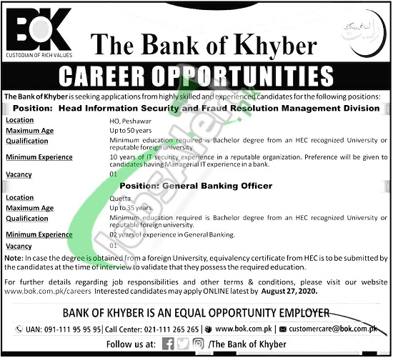 bank-of-khyber-bok-jobs-august-2020-general-banking-officer
