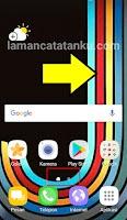 halaman web seperti aplikasi berada di home screen