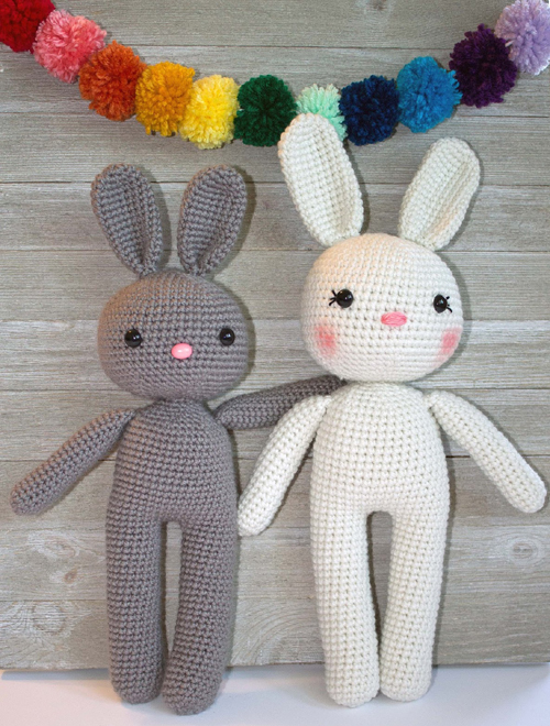The Friendly Bunny Amigurumi - Free Pattern