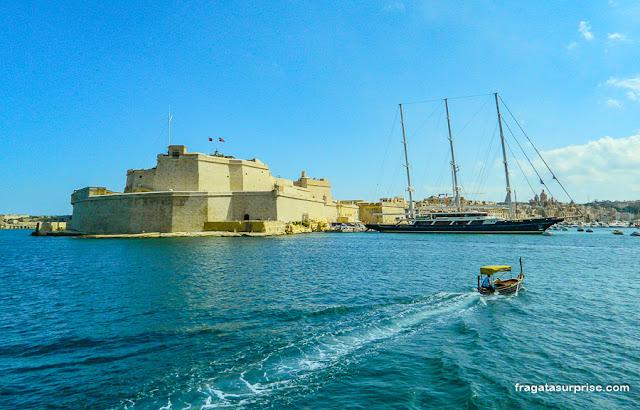 """Forte Sant""""Angelo Malta"""