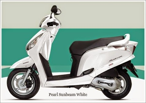 Honda Aviator White Color