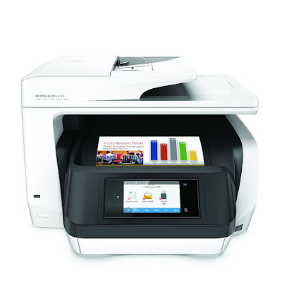 One Wireless Printer alongside Mobile Printing HP OfficeJet Pro 8720 Driver Downloads