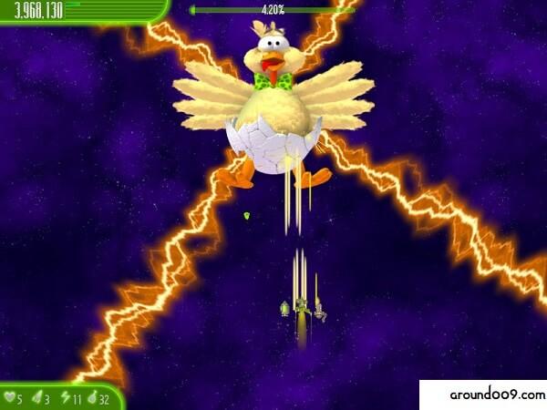 تحميل لعبة حرب الفراخ 5 Chicken Invaders 5 Apk للاندرويد