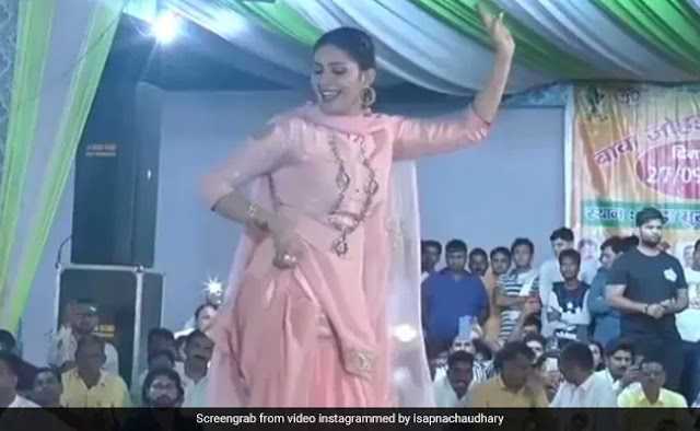 Sapna Choudhary Dance Video Viral Bhojpuri