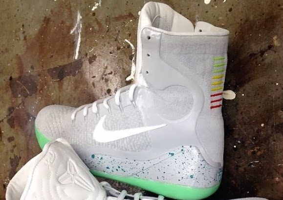 newest 637f7 a3427 ... Here is a look at a pretty awesome Custom here by clean13kicks of a  pair of nike mag ...