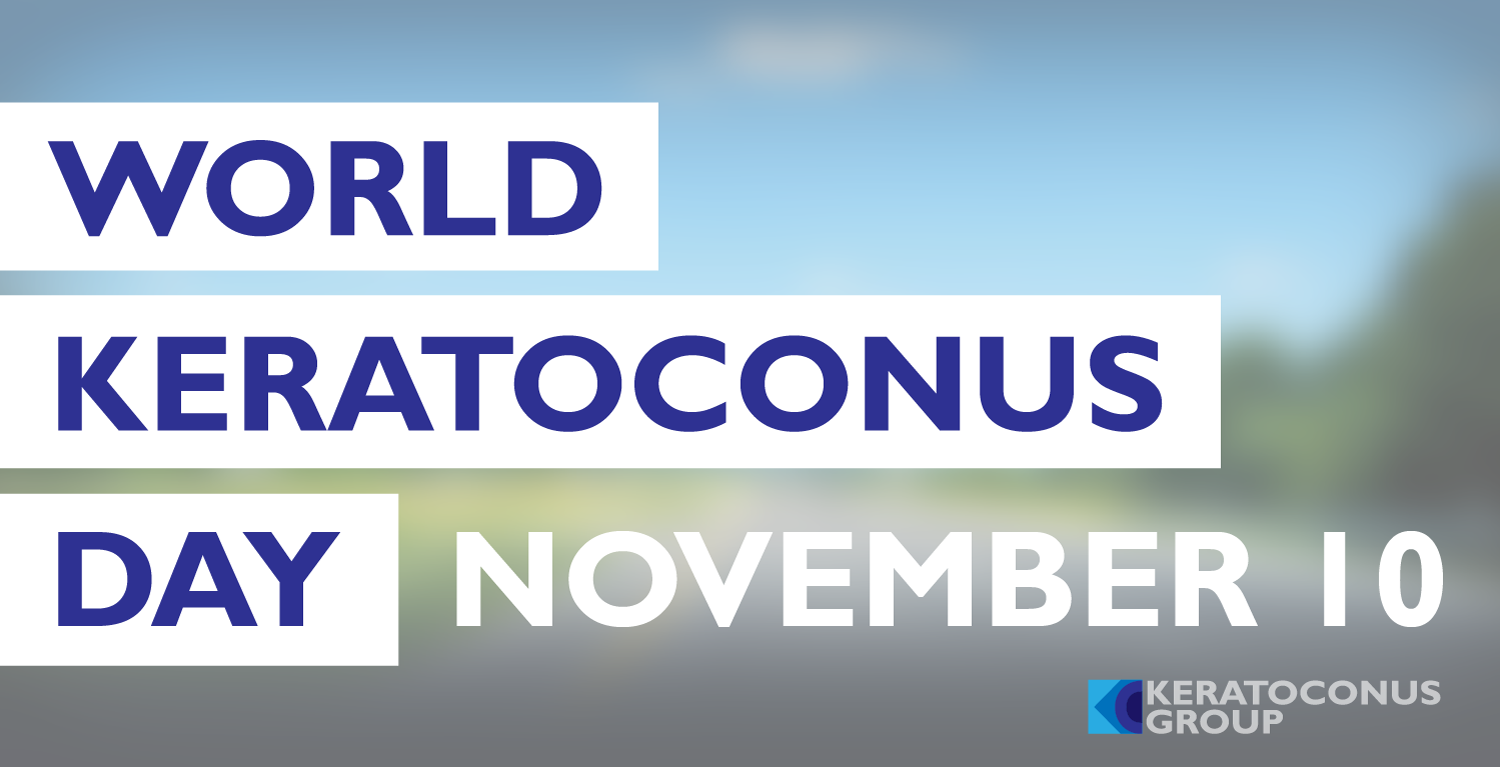 November 10 is World Keratoconus Day