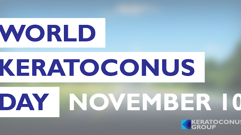 November 10: World Keratoconus Day