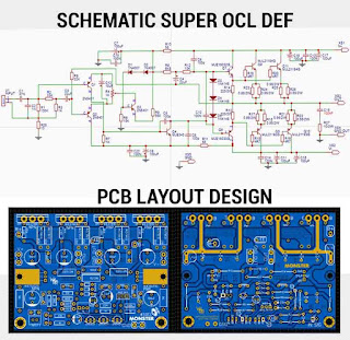 Super OCL Power Amplifier 500W DEF