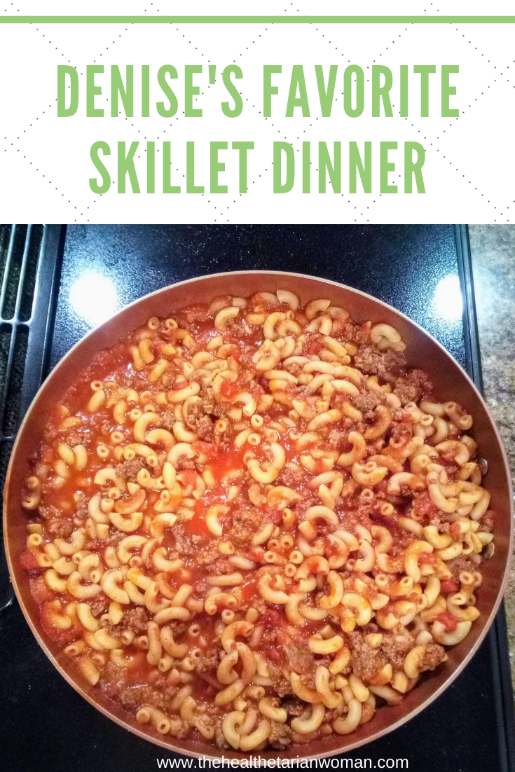 Denise's Favorite Skillet Dinner