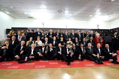 Premios 30 ediciñon Goya 2016