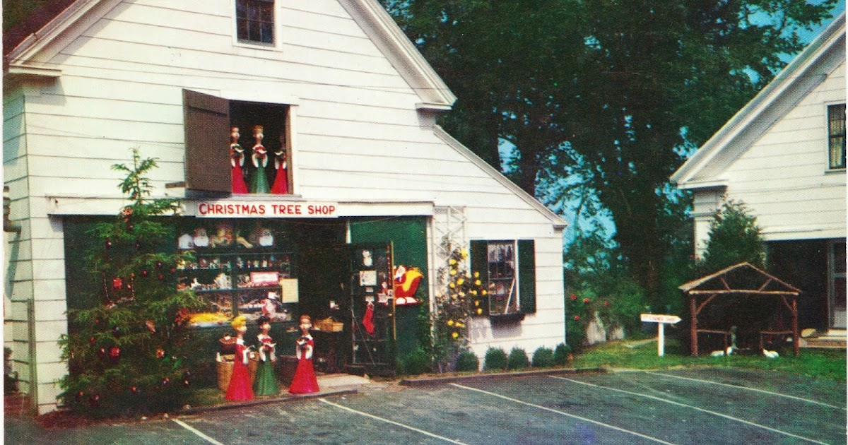 Papergreat: Postcard: The Original Christmas Tree Shops