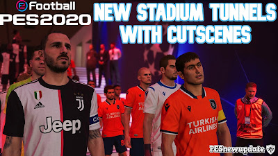 PES 2020 Stadium Tunnels with Cutscenes by FuNZoTiK